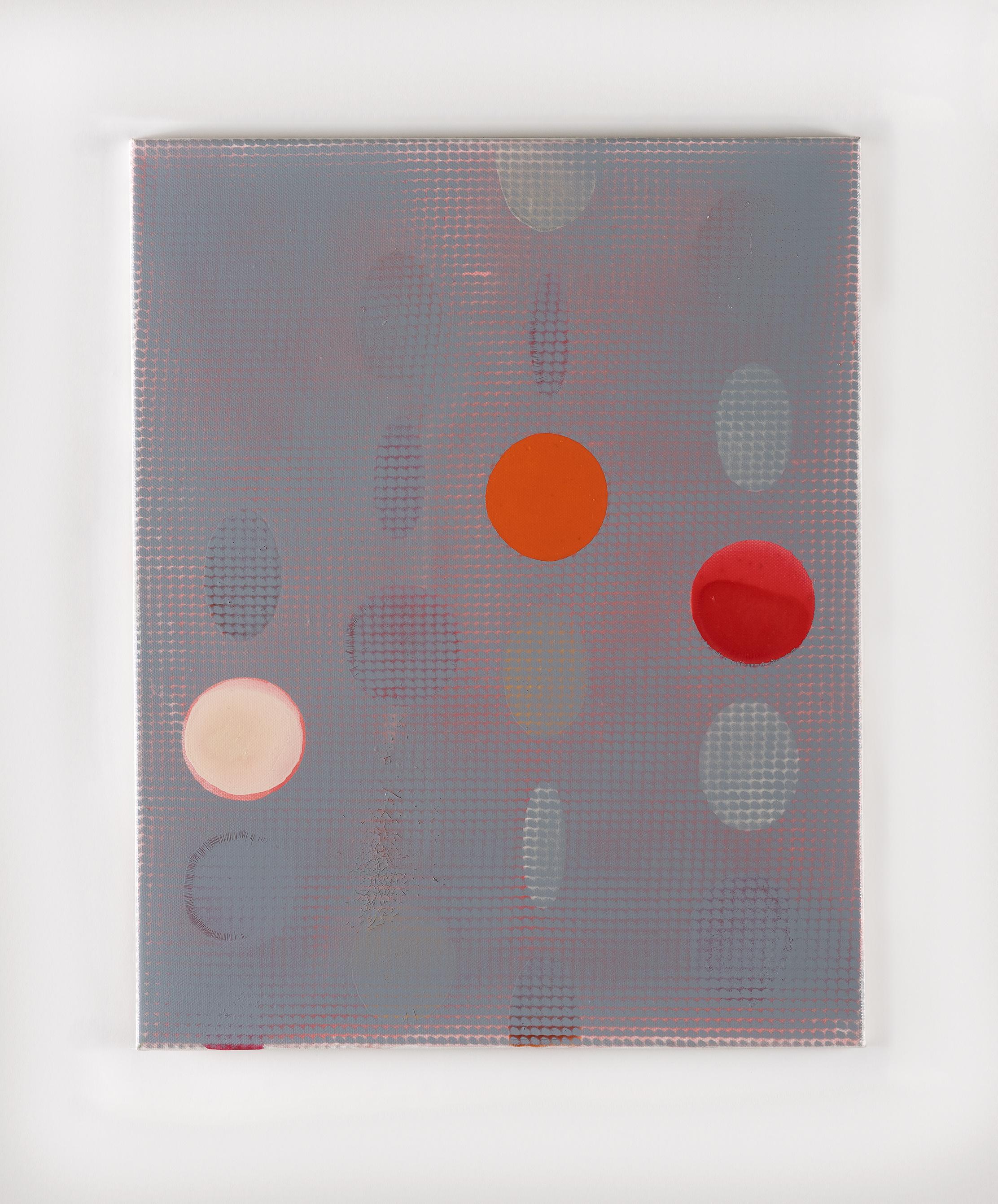 Átfedett szürke 2016, 50x40 cm akril, vászon