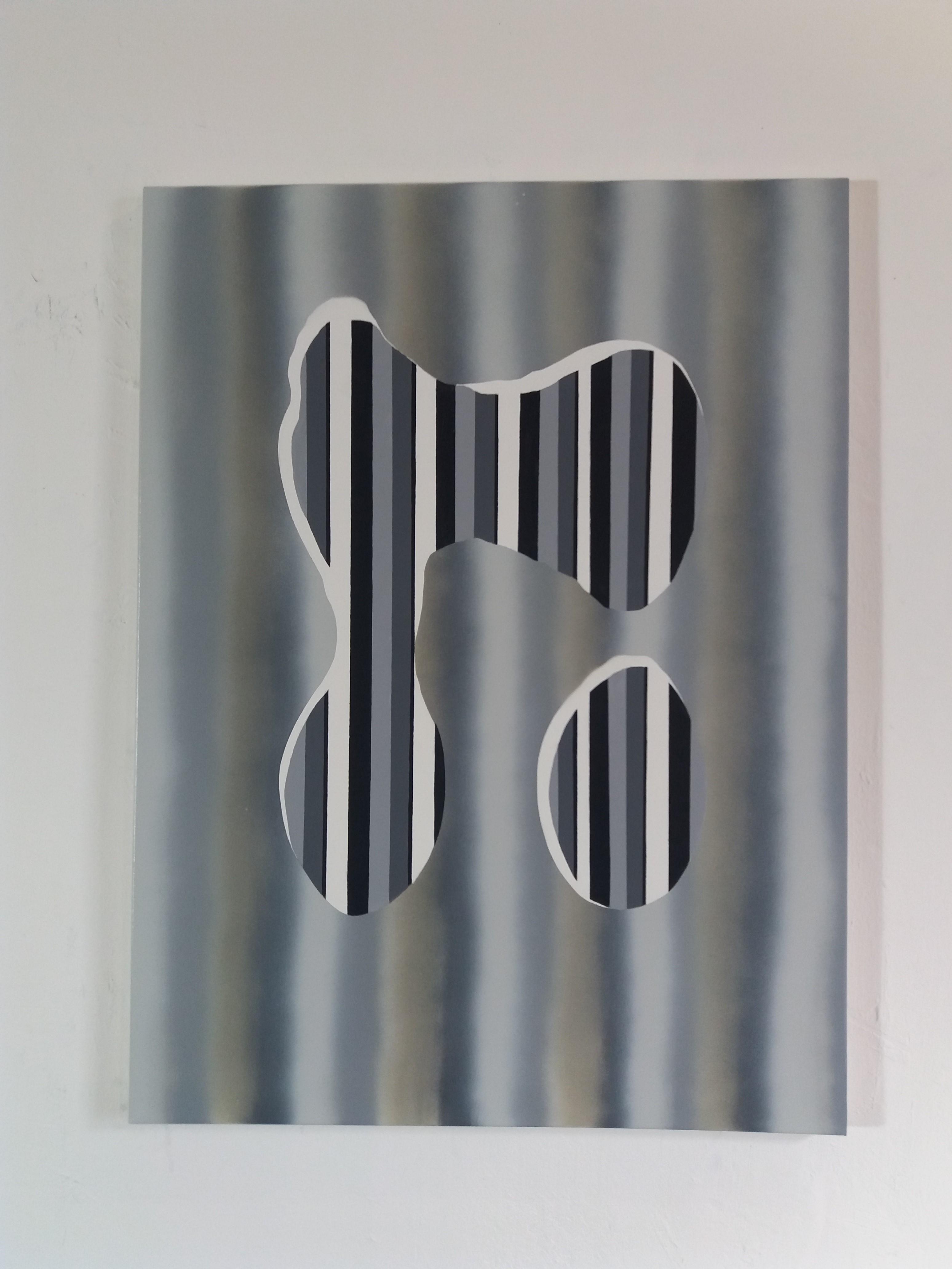 Fókusztalan II. 2017 akril vászon, 80x60 cm